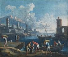 Joseph VERNET - Painting - Harbour
