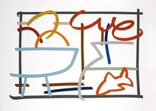Tom WESSELMANN - Estampe-Multiple - Fast Sketch Still Life With Goldfish