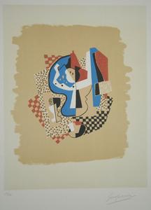 Gino SEVERINI - Print-Multiple - Natura morta con fruttiera