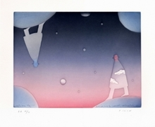 Jean-Michel FOLON - Print-Multiple - Night and Day