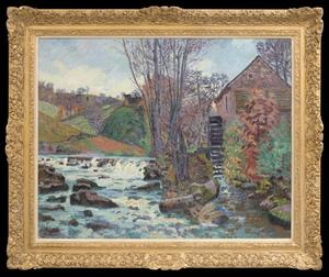 Armand GUILLAUMIN - Painting - Le Moulin Bouchardon à Crozant
