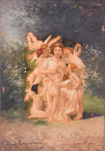 威廉·阿道夫·布格罗 - 绘画 - School or Circle of William Adolphe BOUGUEREAU (1825-1905) —