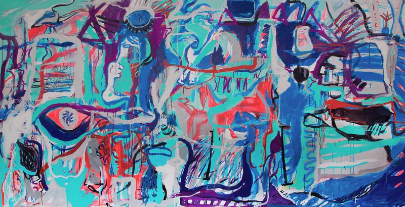 Macha POYNDER - Peinture - Lucky Charm From Arizona
