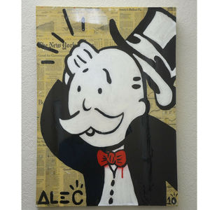 Alec MONOPOLY - Painting - Confused