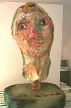 Bernard MOREL - Escultura - AUTOPORTRAIT