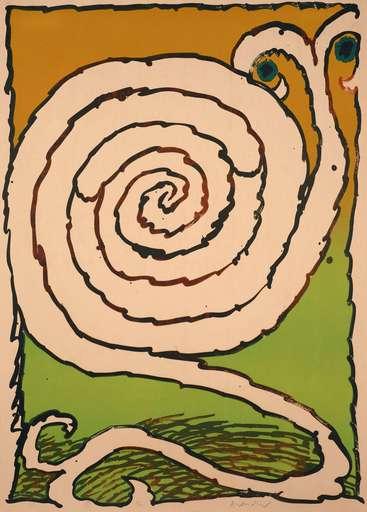 Pierre ALECHINSKY - Print-Multiple - Labyrinthe d'apparat IV
