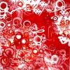 PSYCHOZE - Painting - Diables rouges aux Coeurs tendres