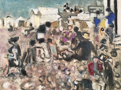 Alexandre Sascha GARBELL - Peinture - Les cabines blanches