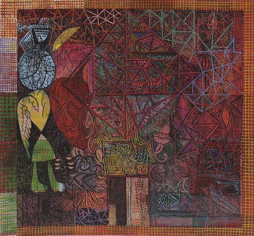 Amar DAWOD - Pintura - The Ta-Sin of Purity I