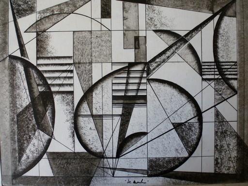 Anne LEE - Disegno Acquarello - LE MOULIN