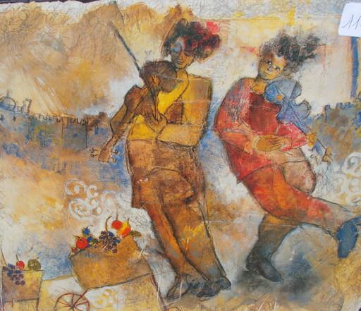 Yoel BENHARROUCHE - Peinture - Les musiciens