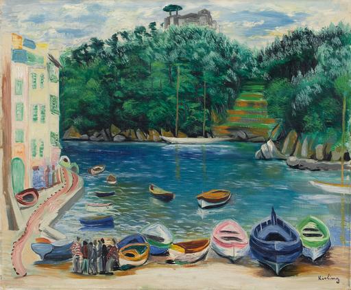 Moïse KISLING - Pintura - Le Port de Portofino