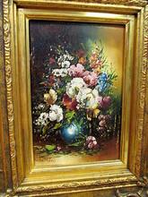 Carl Friedrich THAVER - Pintura - Blumenstilleben