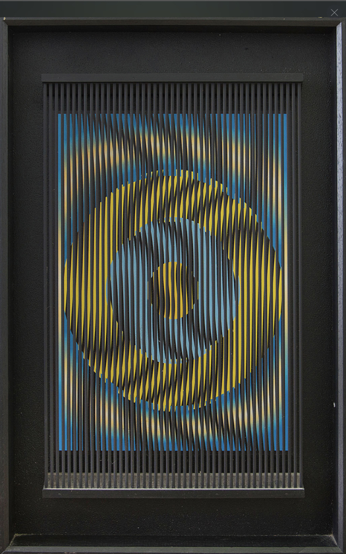 Alberto BIASI - Skulptur Volumen - Moving target