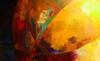 Véronique FARAVEL - Painting - Ancrage