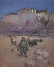 Roland STRASSER - Painting - Tibet