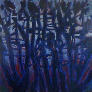 """Jean MOIRAS - Painting - Série des parcs Américains """"Josuha tree"""""""
