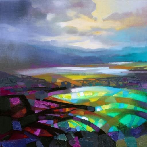 Scott NAISMITH - Painting - Highland colour collision