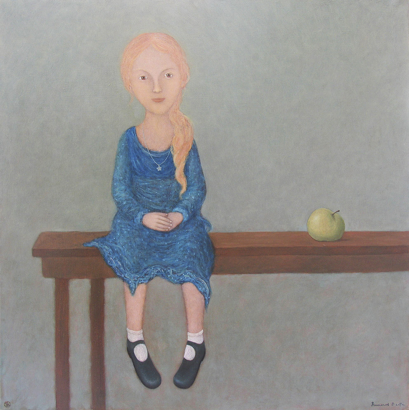 Roman ANTONOV - Peinture - With the apple