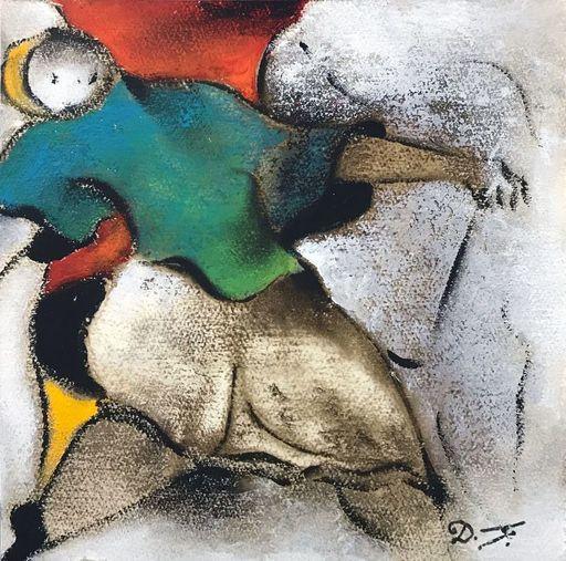 David SCHLUSS - Pittura - The Party