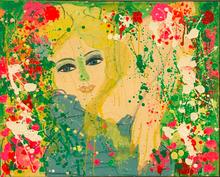 TING Walasse - Painting - i AM GOING TO HUG YOU