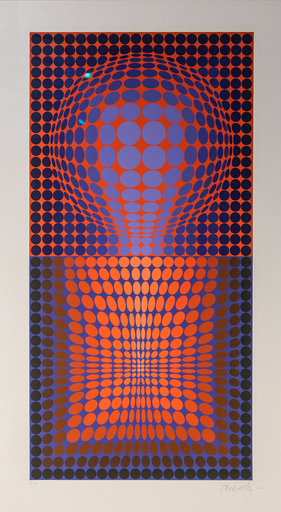 Victor VASARELY - Estampe-Multiple - VY 28 E VP-119