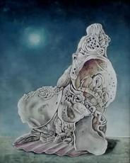 Erich GARGERLE - Pintura - Monumentum