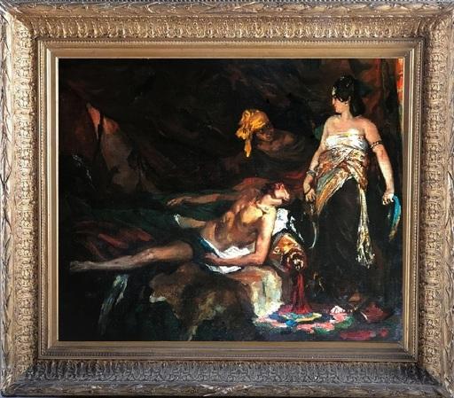 Henri Alexandre Georges RÉGNAULT - Pintura - Judith & Holopherne circa 1869-1871