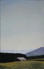 Reiner WAGNER - Painting - Landschaft bei Münsing