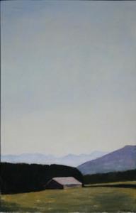 Reiner WAGNER - Peinture - Landschaft bei Münsing