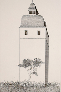 David HOCKNEY - Print-Multiple - The Bell Tower, from: Six Fairy Tales from Brothers Grimm