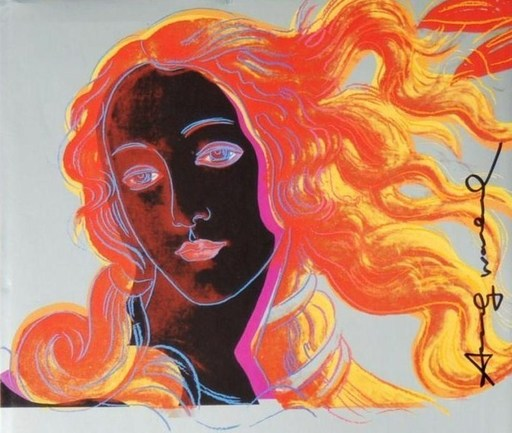 "Andy WARHOL - Stampa-Multiplo - ""The Venus of Boticelli"""