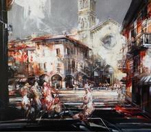 Vanni SALTARELLI (1945) - Place san fidele (Come)