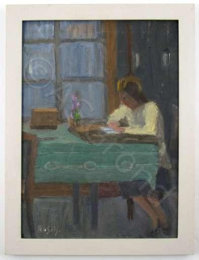 Ruth SCHWOB - Painting - Der Liebesbrief