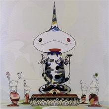"Takashi MURAKAMI - Print-Multiple - ""Reversed double helix..."""