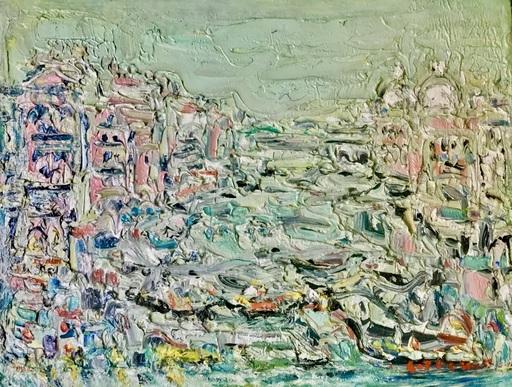 André COTTAVOZ - Painting - Le grand canal Venise