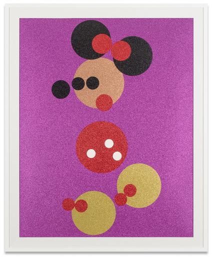 Damien HIRST - Print-Multiple - Minnie Glitter (Large)