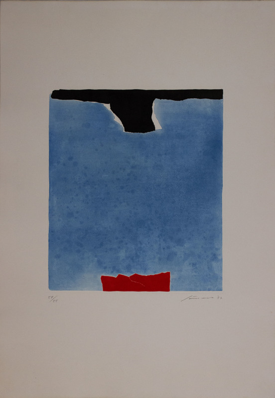 Giuseppe SANTOMASO - Druckgrafik-Multiple - Senza titolo