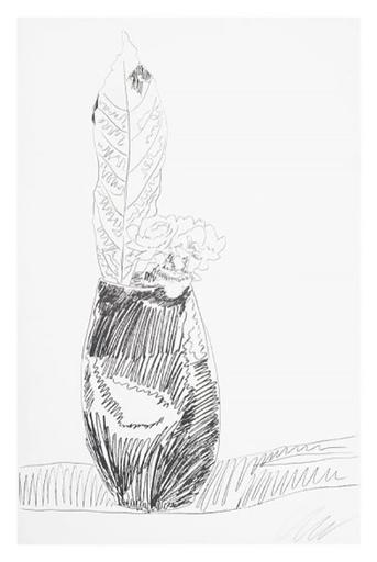 Andy WARHOL - Print-Multiple - Flowers (Black & White)