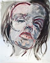 Philippe PASQUA - Peinture - Visage de femme