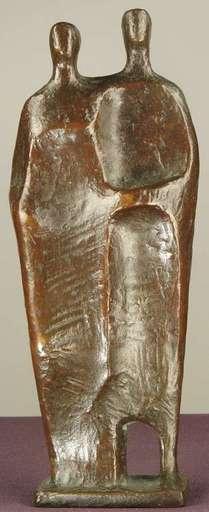 "Joachim BERTHOLD - Escultura - ""Menschenpaar IV"" ( Human Pair Four )"