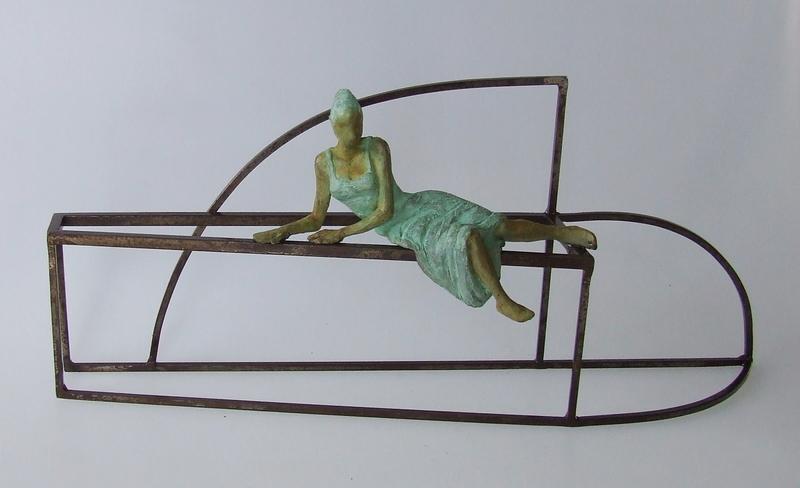 Joan ARTIGAS PLANAS - Sculpture-Volume - Small etruscan princess