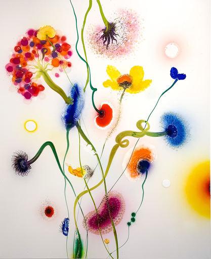 Thierry FEUZ - Painting - Psychotropical Nemeis