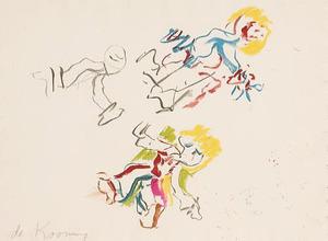 Willem DE KOONING, Composition for Lisa