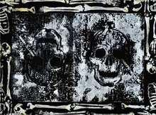 SEEN - Painting - Skull