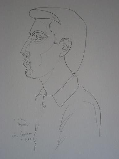 Jean COCTEAU - Grabado - LITHOGRAPHIE 1963 SIGNÉE PLANCHE NUM/XX SIGNED LITHOGRAPH