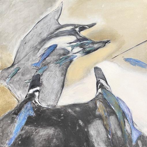 Katia TROTSENKO - Pintura - Manta rays