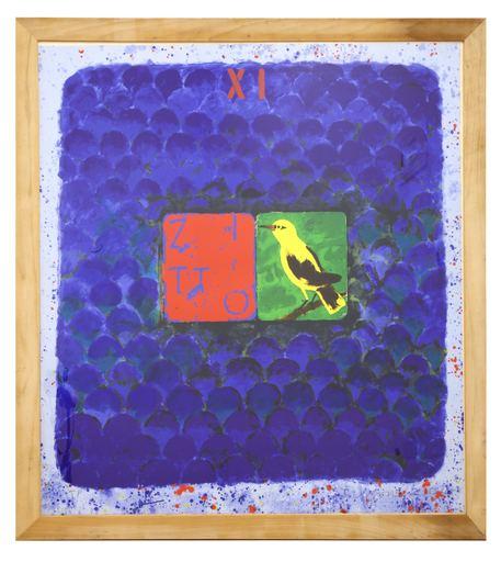 Joe TILSON - Painting - Conjunction Joy, Aria