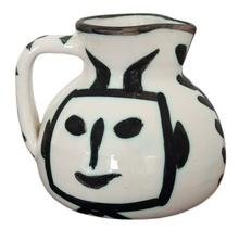 巴勃罗•毕加索 - 陶瓷  - Pichet tête carrée