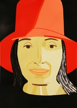 Alex KATZ - Estampe-Multiple - Red Hat Ada
